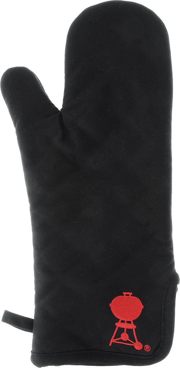 Рукавица для работы на гриле Weber,39 х 15 смVT-1520(SR)Рукавица Weber для работы на гриле, выполненная из натурального хлопка с защищающей от ожогов подкладкой их хлопка и полиэстера. Такая модель станет украшением любой кухни. С помощью специальной петельки рукавицу можно вешать на крючок. Отличный вариант для практичной и современной хозяйки.