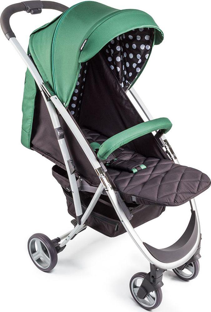 Happy Baby Коляска прогулочная Eleganza V2 цвет зеленый коричневый -  Коляски