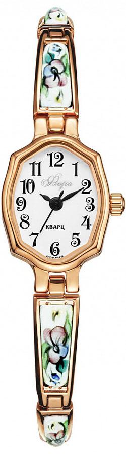 Zakazat.ru Часы наручные женские Mikhail Moskvin Флора, цвет: золотистый, белый. 1240B3B4/18