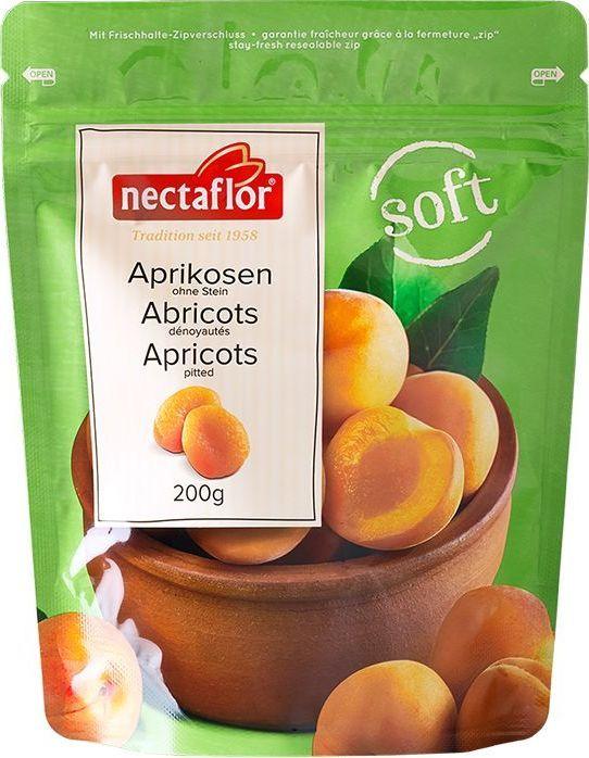 Nectaflor курага сульфитированная сочная, 200 г606124Созревшие на солнце высококачественные сухофрукты аккуратно восстанавливаются для того, чтобы обрести мягкость и сочность. Сочная курага отличается низким содержанием соли, богата витамином А и калием. Насладитесь этой натуральной обезжиренной закуской или используйте для выпечки, десертов и других блюд. Достаточно двух-трех фруктов на завтрак и вы зарядитесь энергией на весь день!
