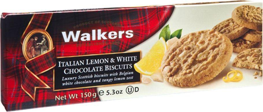 Walkers печенье с лимоном и белым шоколадом, 150 г0120710Самое нежное песочное печенье из когда-либо созданных Walkers в сочетании с настоящим пикантным вкусом сочных сицилийских лимонов. Великолепно сочетаются со свежими сливками.Пищевая ценность на 100 г продукта: белки 4,9 г, жиры 25,3 г, углеводы 62,8 г.