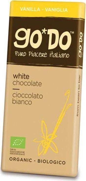 Icam Godo шоколад с ванилью органический белый, 85 г0120710Шоколад ГОДО с ванилью органический белый высшего качества из Италии. Великолепный вкус шоколада является неотъемлемой частью наслаждения жизнью.