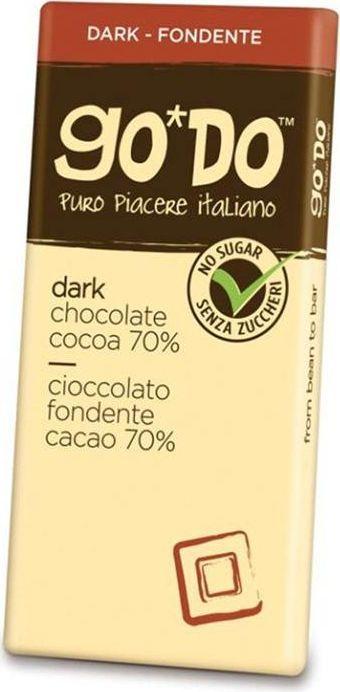 Icam Godo шоколад без добавления сахара горький 60% какао, 85 г0120710Шоколад ГОДО без добавления сахара горький 60%- органический шоколад из Италии высшего качества. Великолепный вкус шоколада является неотъемлемой частью наслаждения жизнью. Уникальная упаковка.