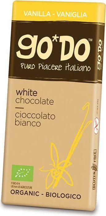 Icam Godo шоколад с ванилью органический белый, 35 г0120710Шоколад ГОДО с ванилью органический белый 35 г. Органический шоколад из Италии высшего качества. Великолепный вкус шоколада является неотъемлемой частью наслаждения жизнью. Уникальная упаковка.