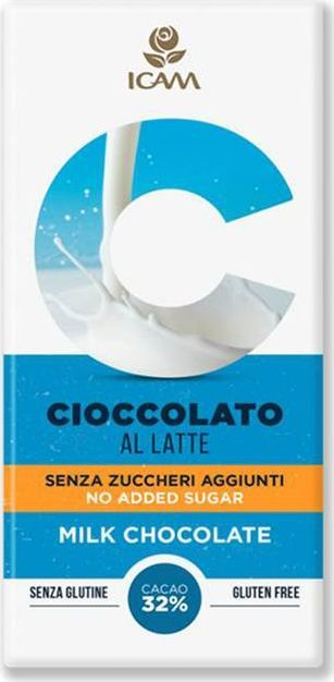 Icam Vanini шоколад классик без добавления сахара молочный 32% какао, 100 гК7205Шоколад ICAM Классик без добавления сахара молочный 32% какао 100 г – это плод вечной страсти, передаваемый с 1946 года из поколения в поколение семьей Agostoni, - виртуозами по производству подлинного итальянского шоколада. Высококачественные ингредиенты. Высококачественные ингредиенты. Продукция не содержит глютен. Привлекательный дизайн упаковки.