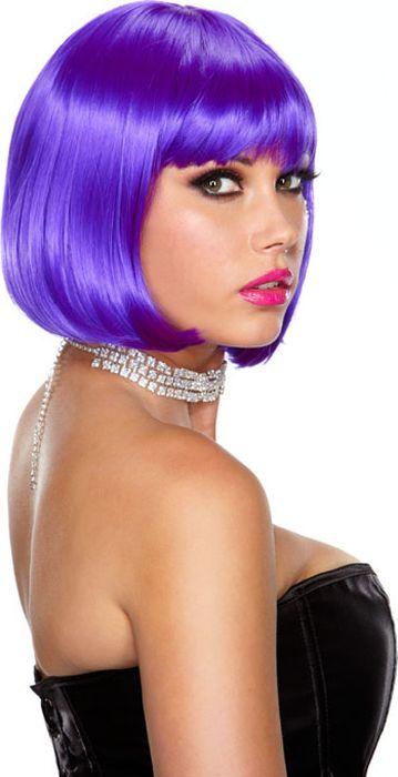 Фиолетовый парик-каре Playfully Purple. Размер универсальный. EF-WG-19-PUREF-WG-17-WHTСтрижка, обрамляющая лицо, сакцентирует внимание на Вашем лице. Мягкие, шелковистые, блестящие японские волосы высшего качества на ощупь как натуральные здоровые волосы. После мытья парик восстановит свою укладку самостоятельно.