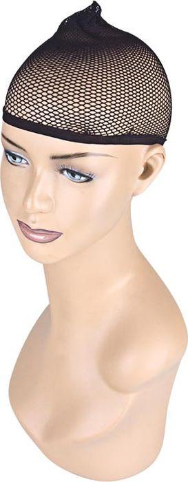 Черная сетка для волос под парик. Размер универсальный. EF-WS01EF-CH02Сетка черного цвета, которая позволяет скрыть и уложить собственные волосы при носке парика. Очень комфортна и надежна в использовании, а также позволяет волосам дышать. Благодаря универсальному размеру она подойдет для всех.