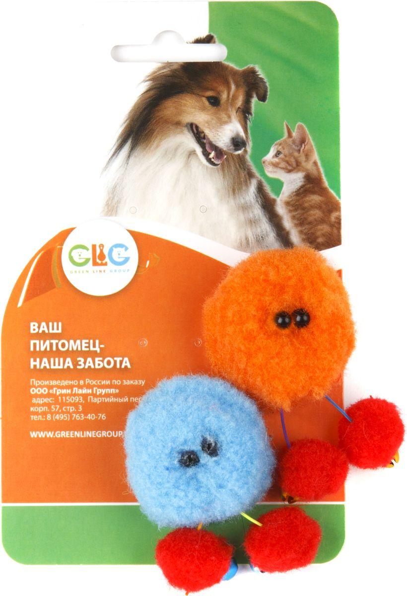 Игрушка для кошек GLG Кузя с бубенчиками, 2 шт0120710Игрушка для кошек GLG Кузя с Бубенчиками обязательно понравится вашей кошке! На ножках игрушки располагаются два бубенчика, которые звенят во время игры.Длина игрушки: 4 см.В наборе 2 игрушки.