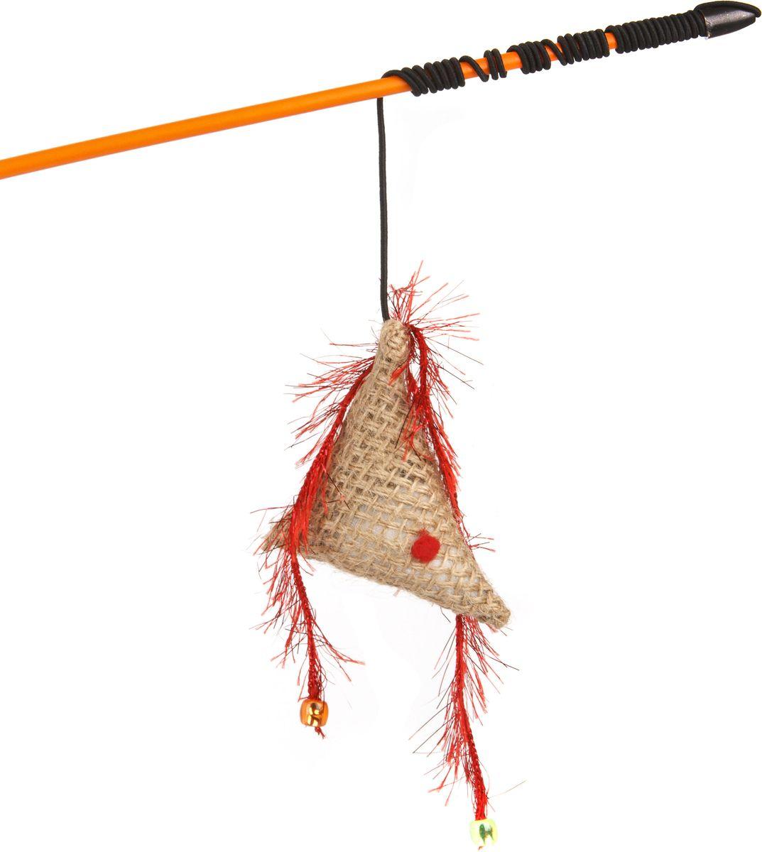 Игрушка-дразнилка для кошек GLG Рыбка, длина 60 см0120710Игрушка-дразнилка для кошек GLG Рыбка представляет собой пластиковую палочку, на конце которой прикреплена рыбка. Игрушка на резинке, хорошо пружинит и отскакивает. Игрушка поможет развить мускулатуру и реакцию кошки, а также удовлетворит её охотничий инстинкт. Способствует балансировке нервной системы, повышению мышечного тонуса, правильному развитию скелета. Рекомендуется для совместных игр хозяина с питомцем.Длина игрушки: 60 см.