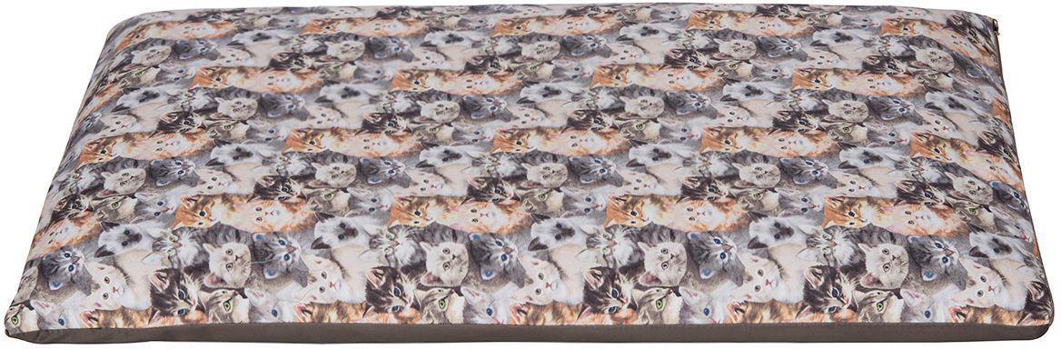 Матрас для животных Dogmoda Cats, 73 x 47 x 7 см. DM-160343_серый0120710Матрас CATS был разработан, чтобы создать комфортное место для отдыха вашей кошки. Не менее важной задачей было обеспечение простоты ухода за лежанкой. Потому нами было принято решение сделать ее двухслойной. Синтепоно-поролоновый наполнитель заключен в подкладочный чехол, поверх которого надевается второй чехол из полиэстера и хлопка.Преимущества созданного нами матраса:• комфортен для кошек, обладает достаточным размером, чтобы принять удобное положение;• прост в уходе — достаточно снять верхний чехол на застежке молнии и постирать его, чтобы изделие вновь выглядело как новое, даже если ваш домашний любимец принадлежит к длинношерстным породам;• конкурентная стоимость при превосходных пользовательских характеристиках.Размер матраса стандартный: длина 73 см, ширина 47 см, высота 7 см.