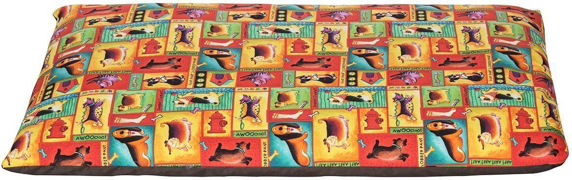 Матрас для животных Dogmoda Dogs, цвет: оранжевый, 73 x 47 x 7 смЛ10/4 Лежак закрытый Норка _ прованс бежевый, материал бязь, поролонМатрас Dogmoda Dogs был разработан, чтобы создать комфортное место для отдыха вашей кошки. Не менее важной задачей было обеспечение простоты ухода за лежанкой. Потому было принято решение сделать ее двухслойной. Синтепоно-поролоновый наполнитель заключен в подкладочный чехол, поверх которого надевается второй чехол из полиэстера и хлопка.Преимущества матраса:- комфортен для кошек, обладает достаточным размером, чтобы принять удобное положение;- прост в уходе — достаточно снять верхний чехол на застежке молнии и постирать его, чтобы изделие вновь выглядело как новое, даже если ваш домашний любимец принадлежит к длинношерстным породам;- конкурентная стоимость при превосходных пользовательских характеристиках.Размер матраса стандартный: длина 73 см, ширина 47 см, высота 7 см.