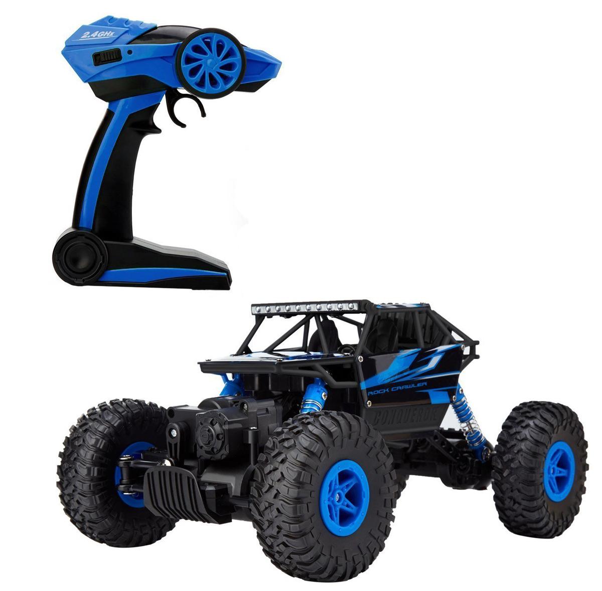 HB Машинка на радиоуправлении Краулер цвет синий черный