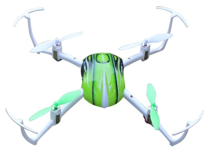 Huaxiangtoys Квадрокоптер на радиоуправлении цвет зеленый