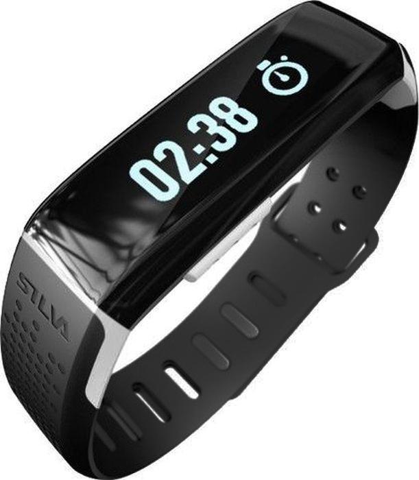 Фитнес-браслет Silva Smartband SEC, цвет: черный37517Фитнес-треккерХарактеристики:-потраченные калории-количество шагов-время работы от батареи - до 7 дней-время зарядки - 2 часа-водонепроницаемость - IPX6, защита от брызг-вес 19 гр-совместимость iOS 8 and up / Android 4.3 and up-Bluetooth