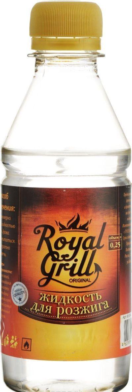 Жидкость для розжига RoyalGrill, углеводородная, 0,22 л. 80-29100000927Жидкость для розжига 0,22 л, углеводородная