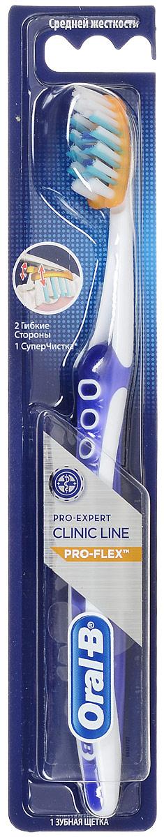 Зубная щетка Oral-B Pro-Expert Clinic Line Pro-Flex, средняя жесткость, цвет фиолетовыйSatin Hair 7 BR730MNЗубная щетка Oral-B Pro-Expert Clinic Line Pro-Flex, средняя жесткость, цвет фиолетовый