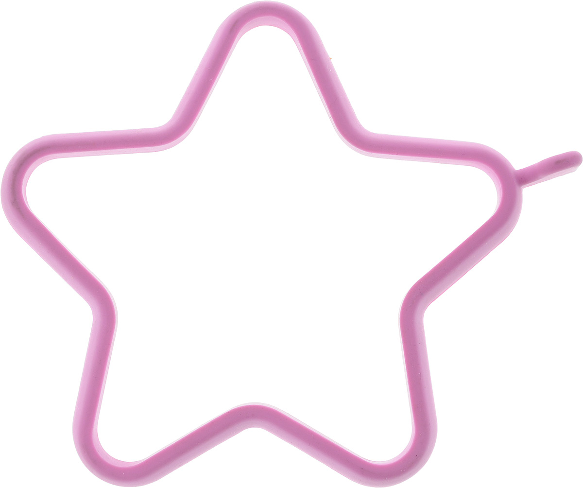 Форма для яичницы Oursson Звезда, цвет: сиреневый, 14 х 12 смATV318Форма для яичницы Oursson Звезда, выполненная из жаростойкого силикона, подходит для приготовления яичницы, омлета, оладий. Она добавит оригинальности обычным блюдам и особенно понравится детям. Форма не повреждает антипригарное покрытие сковород. Выдерживает температуру от -20°С до +220°С. Для получения идеального результата рекомендуется использовать ее на ровной поверхности сковороды.
