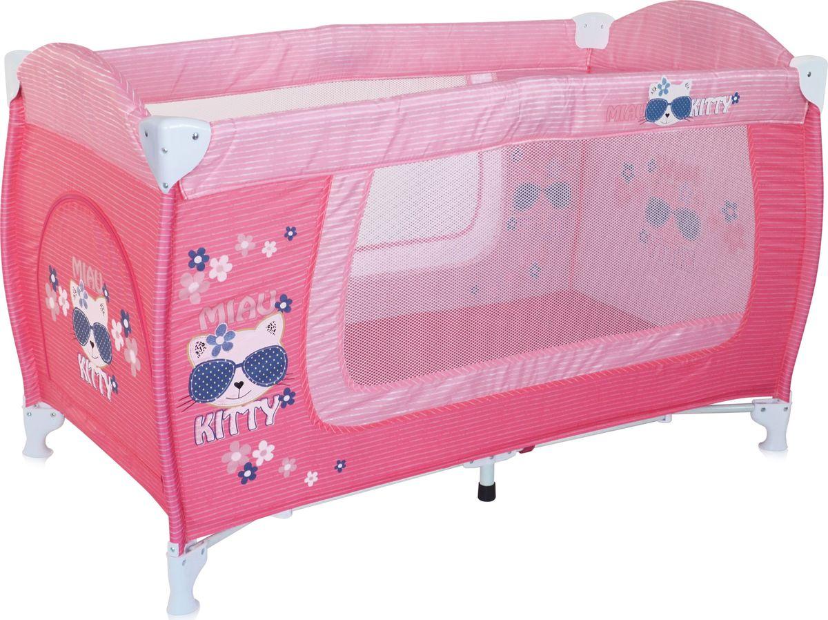 Lorelli Манеж Danny 1 цвет розовый - Детская комната