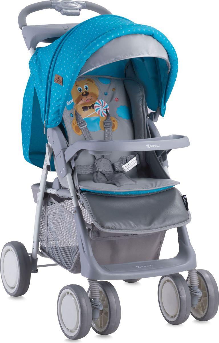 Lorelli Коляска прогулочная Foxy цвет синий серый -  Коляски