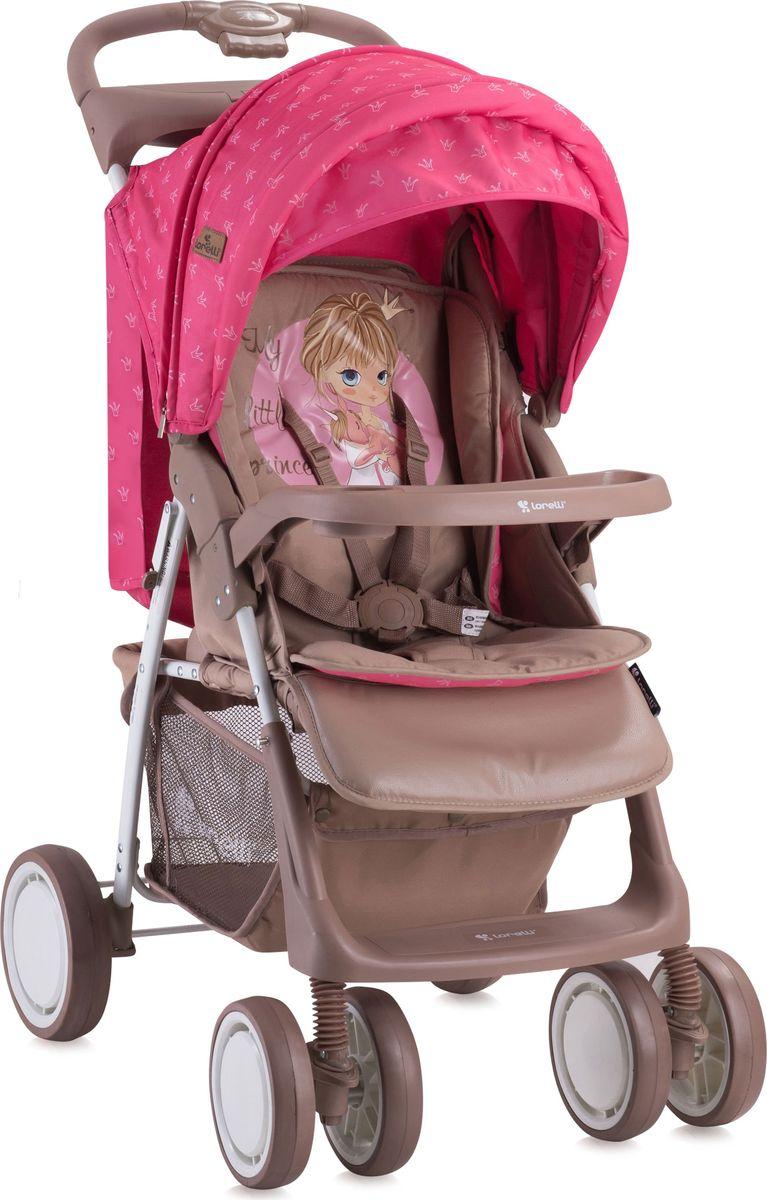 Lorelli Коляска прогулочная Foxy цвет розовый бежевый -  Коляски