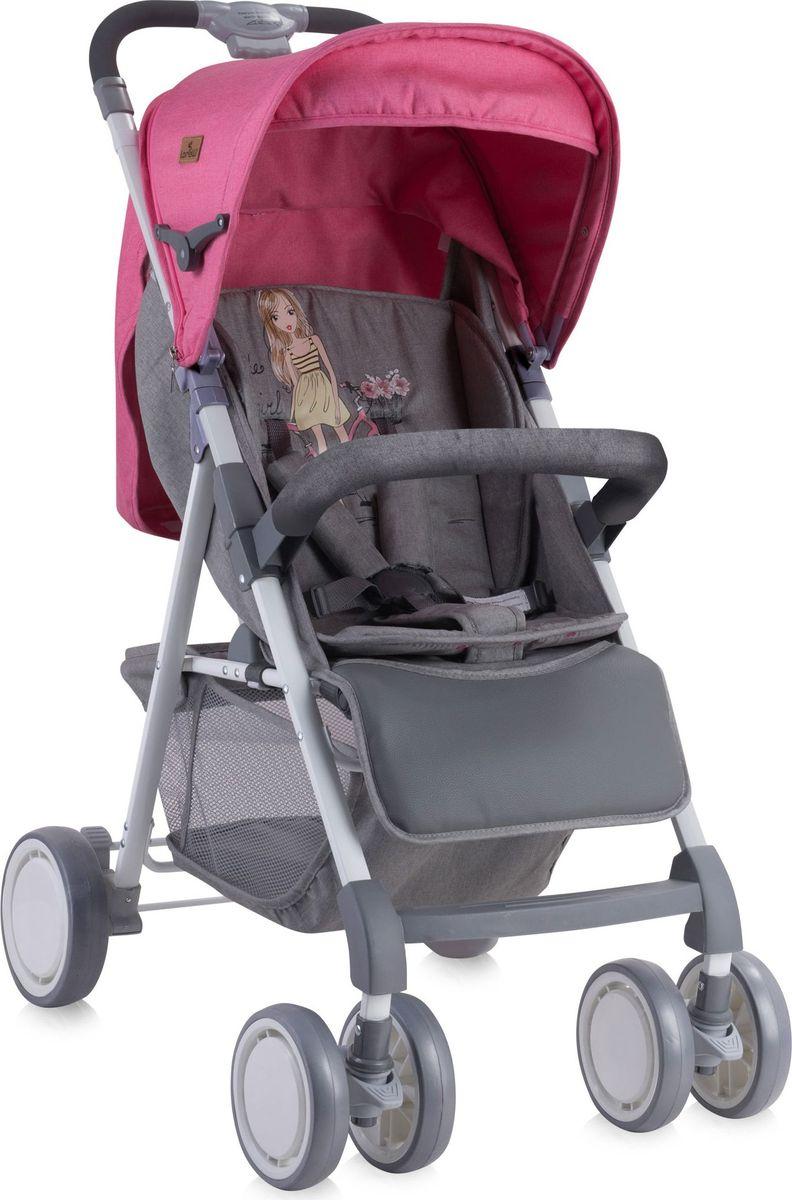 Lorelli Коляска прогулочная Aero цвет розовый серый -  Коляски и аксессуары