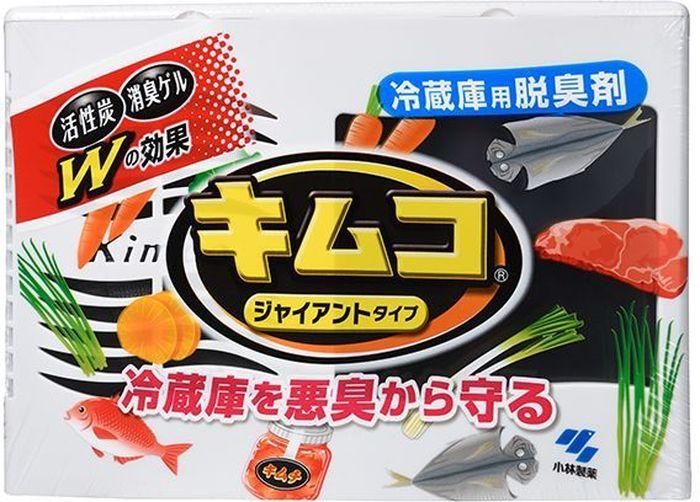 Поглотитель запахов Kobayashi, для холодильника, 162 гCLP446Поглощает неприятные запахи в холодильнике (запахи рыбы, мяса и других сырых продуктов), сохраняя вкусовые качества, за счёт двойного действия: угольный фильтр (обработанный высокотемпературным паром уголь с повышенной адсорбирующей способностью) и гелевый наполнитель (с содержанием ПАВ-поглотителей запахов). Способ использования: 1. Удалите внешнюю защитную плёнку с корпуса поглотителя.2. Откройте верхнюю крышку, выньте ёмкость с гелевым наполнителем, удалите защитную фольгу. 3. Вставьте ёмкость в корпус поглотителя, закройте верхнюю крышку. Условия использования и хранения: 1. Не извлекайте и не вскрывайте пакет чёрного цвета с активированным углём. 2. Ставьте корпус поглотителя в вертикальное положение во избежание вытекания гелевого наполнителя. 3. В гелевом наполнителе могут появиться крупинки белого цвета, что не влияет на эффект действия поглотителя. 4. Время замены определяется уменьшением объема гелевого наполнителя (до высоты 1-2 см от дна ёмкости). Внимание при применении: Не используйте для морозильных камер. Не для приёма внутрь. Храните в недоступных для детей местах. Избегайте хранения при высоких температурах, а также под воздействием прямых солнечных лучей. Используйте строго по назначению. При попадании содержимого поглотителя в глаза или на кожу рук сразу же промойте проточной водой не меньше15 минут. Если Вы случайно проглотили содержимое поглотителя, запейте большим количеством воды. При ухудшении самочувствия обратитесь к врачу, взяв с собой данное средство. Срок действия поглотителя: от пяти до шести месяцев для холодильной камеры объёмом до 450/600 л (маленькая/большая упаковка) Состав: менее 30% более 15% - кокамидопропил бетаин, активированный уголь; менее 5% - углеродная сажа, геллановая медь, лактат кальция, 1,2 - пропандиол, 1,2-бензизотиазолин-3-он, спирт, вода, активированный уголь, фосфорная кислота.. Вес: маленькой упаковки - 13 г (активированный уголь) + 100 г (активированн
