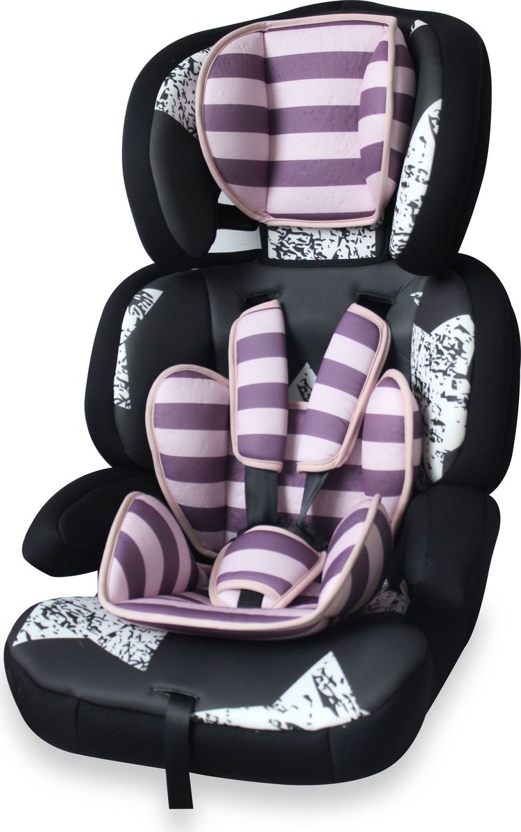 Lorelli Автокресло Junior Premium от 9 до 36 кг цвет розовый черный - Автокресла и аксессуары