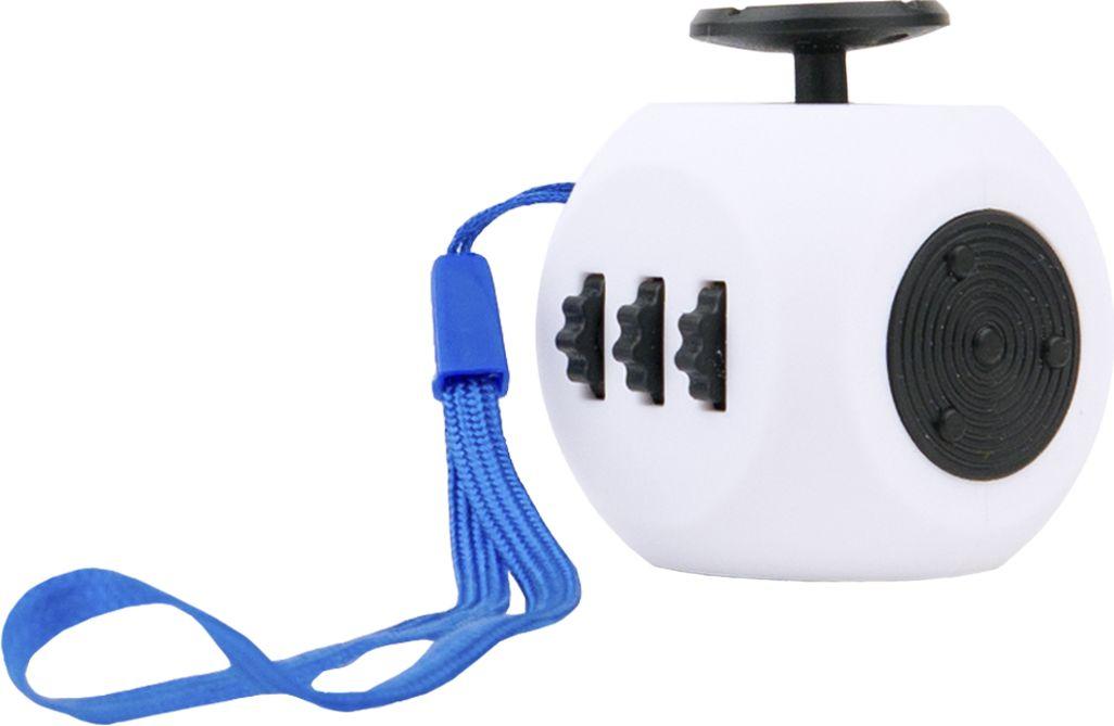 Fidget Cube 3.0 Air Игрушка-антистресс цвет белый черный - Развлекательные игрушки