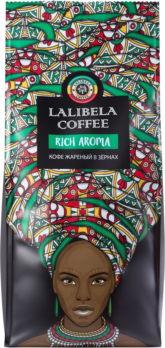 Lalibela coffee Rich Aroma кофе в зернах, 500 г0120710Изысканная смесь из благородной арабики различных сортов, собранных на высокогорных плантациях Африки, подарит вам богатый вкус с фруктовыми нотками. Мягкий, бархатный аромат Lalibela Coffee Rich Aroma восхищает глубиной и тающей нежностью шоколадных оттенков.