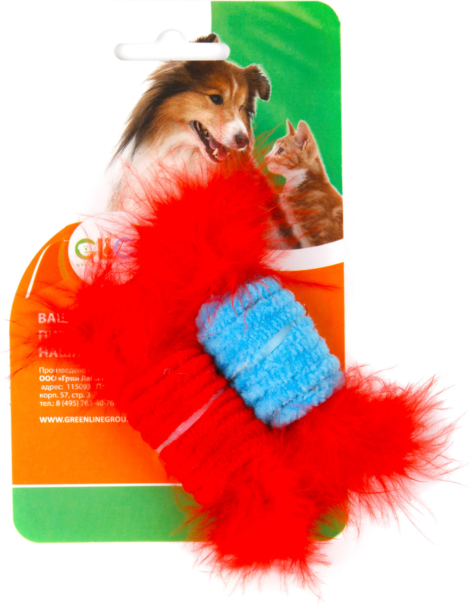 Игрушка для кошек GLG Ролл с перьями, 2 штGLG007/Am-ag011/cИгрушка будет поддерживать вашу кошку в отличной спортивной форме и не даст ей засидеться.Предназначена для активных игр с кошкой.Размер игрушки: 2,8 x 4,2 см.В наборе 2 игрушки.
