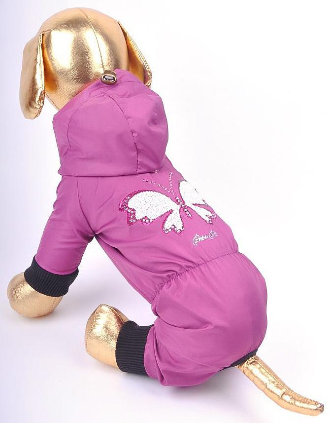 Комбинезон для собак GLG Цепочки. Размер M0120710Комбинезон для собак Цветной с цепочкой, материал- вискоза х/б, размер-M, длина спины27-29см, объем груди-37-39см.