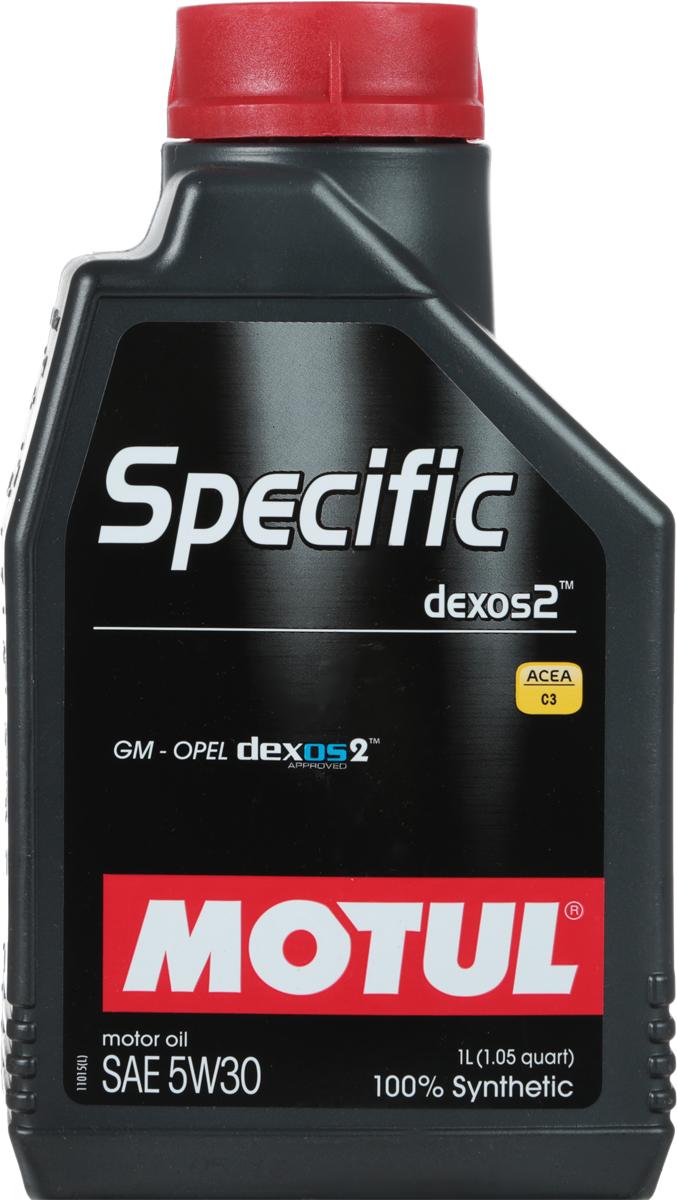 Масло моторное Motul Specific Dexos2, синтетическое, 5W-30, 1 л787502Моторное масло для бензиновых и дизельных двигателей GM-Opel. 100% синтетическое. Высокотехнологичное 100% синтетическое энергосберегающее моторное масло, специально разработано для двигателей автомобилей GM-Opel, требующих использования моторных масел, одобренных General Motors по стандарту dexos2TM. Универсальное моторное масло для большинства двигателей GM-Opel обладает высокой смазывающей способностью (высокая вязкость HTHS> 3,5 mPa.s) и энергосберегающими свойствами. Также совместимо с двигателями требующими использование моторного масла класса API SM/CF или ACEA C3. Совместимо со всеми типами топлива (бензин, дизельное топливо, биодизель, сжатый или сжиженный газ). Может быть не применимо в некоторых типах двигателей. Перед использованием необходимо ознакомиться с рекомендациями в руководстве по эксплуатации автомобиля. ACEA Стандарты: ACEA C3API Стандарты: API PERFORMANCES SN/CFОдобрения: GM-OPEL dexos2 - License number: GB2A01020701