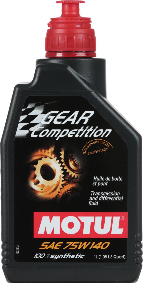 Масло трансмиссионное Motul Gear FF Comp, синтетическое, 75W-140, 1 л2706 (ПО)Трансмиссионное масло для дифференциалов повышенного трения. 100% синтетика на основе сложных эфиров. Спортивное использование. Разработано специально для дифференциалов гоночных автомобилей. Все гипоидные дифференциалы с системами ограничения скольжения, коробки передач интегрированные с дифференциалом повышенного трения, механическая трансмиссия, синхронизированные и несинхронизированные редукторы. Применяется для редукторов, работающих при ударных нагрузках, высоких нагрузках и низких скоростях вращения или средних нагрузках и высоких скоростях вращения. API Стандарты: API GL-5