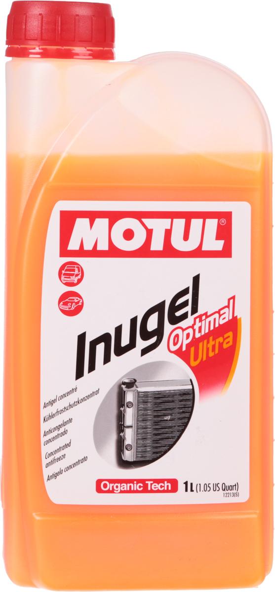 Антифриз Motul Inugel Optimal Ultra, концентрат, цвет: флуоресцентный оранжевый, 1 лSVC-300Концентрат охлаждающей жидкости антикоррозионный, низкозамерзающий создан по органической технологии.Не содержит нитритов, аминов, фосфатов, боратов, силикатов. Motul Inugel Optimal Ultra это концентрат охлаждающей жидкости на основе моноэтиленгликоля с органическими добавками. Перед использованием его необходимо развести дистиллированной водой. Рекомендуется для всех охлаждающих систем: легковые автомобили, сложные условия эксплуатации, строительная и сельскохозяйственная техника, садовая техника, водная техника, стационарные двигатели. Одобрения: TL-774 D (G12), TL-774 F (G12+); CUMMINS IS Series & N14; CUMMINS 32-9011; JDMH5; MB 325.3; Powercool Plus; 0199-99-1115 / 0199-99-2091; NC 956-16; IVECO 18-1830; CMR 8229/WSS-M97B44-D; GM 6277M; QL 130100/GM 6277M; HES D 2009-75; Hyundai; Isuzu; Daewoo/Ssangyong; 07.892