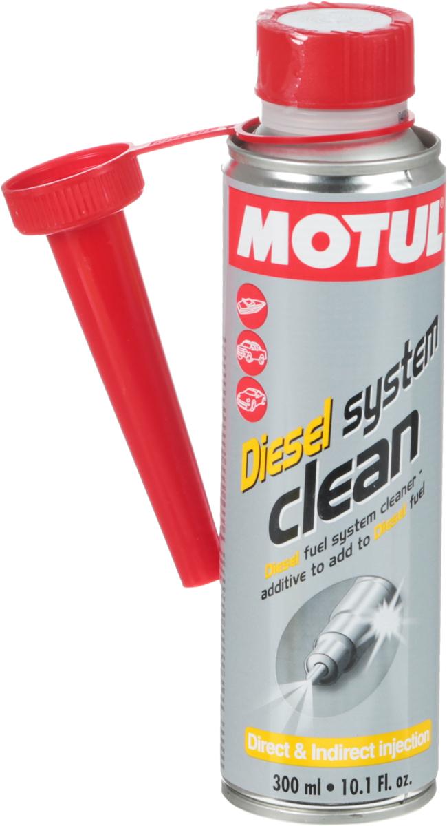 Промывка Motul Diesel System Clean Auto, 300 мл. 104880106614Очиститель топливной системы, присадка в дизельное топливо Motul Diesel System Clean разработано для использования в дизельных двигателях, атмосферных или с турбонаддувом, с каталитическим нейтрализатором и без.Motul Diesel System Clean эффективно очищает загрязнения и отложения, образующиеся в топливной системе:- конденсат в топливной системе;- отложения в насосе;- засорение форсунок;- загрязнения камеры сгорания и выпускных клапанов. Motul Diesel System Clean обеспечивает смазку поверхностей во время очистки и предотвращает повторное отложение удаленных частиц загрязнения.