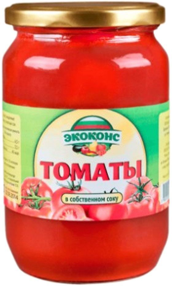 Veselina томаты в собственном соку, 680 г0120710Томаты марки Веселина - это консервы из экологически чистого продукта, приготовленные без использования искусственных добавок, консервантов и красителей. Прекрасный томатный вкус и аромат достигается благодаря отборным, зрелым плодам помидоров, выращенных на плодородных землях Болгарии. Применение таких консервированных очищенных томатов ограничивает только ваша кулинарная фантазия. Можно приготовить салат, приправленный оливковым маслом, черным перцем и кусочками брынзы, или добавлять при приготовлении различных блюд в качестве томатного соуса или кусочками помидоров.Богатое содержание калия обуславливает пользу томатов в профилактике сердечных заболеваний, в нормализации процессов обмена. Помидоры, кроме того, содержат ликопин – пигмент, придающий им ярко-красный цвет. Он имеет мощные антиоксидантные свойства, и предотвращает развитие раковых клеток, причем свойства эти сохраняются даже при пастеризации. Томатный сок вызывает в организме выработку серотонина – гормона радости, тем самым помогая снять последствия стресса и нервное напряжение. Консервированные томаты марки Веселина разнообразит ваш рацион во время поста или при диетическом режиме питания.