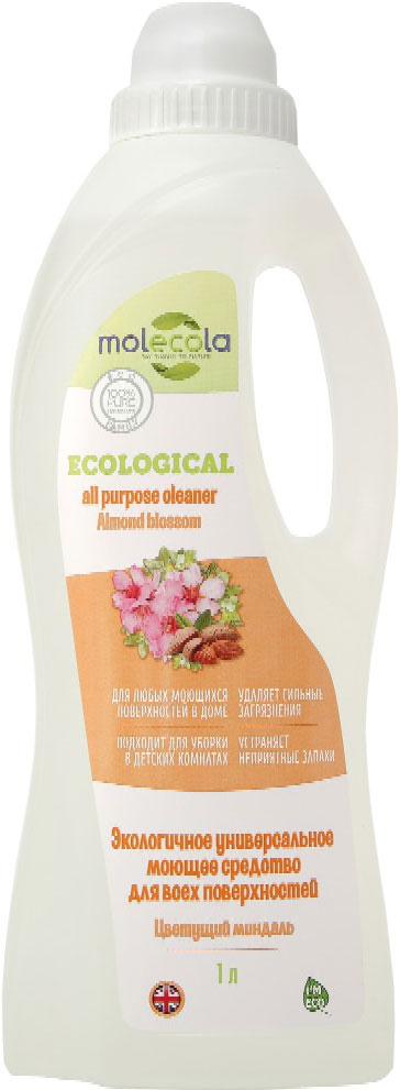 Универсальное моющее средство Molecola Almond Blossom, для всех поверхностей, экологичное, 1 л68/5/1Универсальное моющее средство Molecola AlmondBlossom подходит для всех поверхностей в домеидеально подходит для эффективной игигиенической очистки любых поверхностей.Экономично в использовании. Устраняет ипредотвращает появление неприятных запахов.Обладает антибактериальными свойствами.Безопасно для кожи и дыхательных путей. Вконцентрированном виде используется для очисткиванн, раковин, детских ванночек, горшков и другихповерхностей. Требует смывания.Вразведенном виде используется для мытья пола(керамической плитки, окрашенных полов,ламинированной доски, паркета, линолеума) идругих гладких поверхностей в доме (столы, стены,мебель, дерево, камень, синтетика). Не требуетсмывания.При использовании раствора для мытья детскихигрушек, стульчиков, колясок, манежей и другихповерхностей требует смывания.Рекомендовано людям, имеющималлергическую реакцию на средства бытовойхимии. Состав: Вода, > 5% анионные ПАВ, глицерин, >5% амфотерные ПАВ, загуститель (ксантановаякамедь), консервант, пеногаситель, отдушка,лимонная кислота.Товар сертифицирован.Уважаемые клиенты! Обращаем ваше внимание на возможные изменения в дизайне упаковки. Качественные характеристики товара остаются неизменными. Поставка осуществляется в зависимости от наличия на складе.