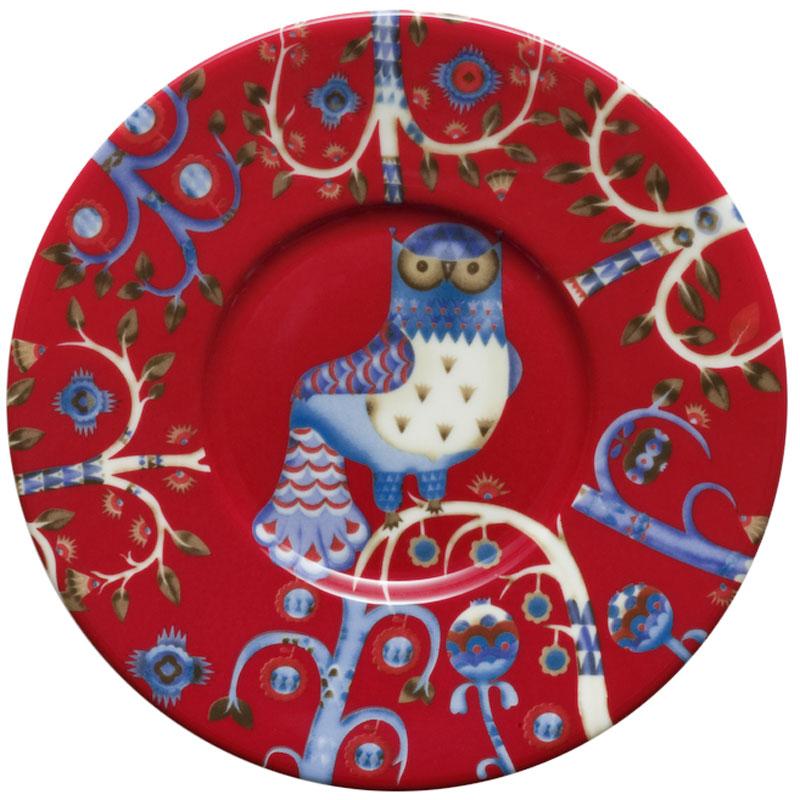 Блюдце Iittala Taika, цвет: красный, диаметр 15 см1012486