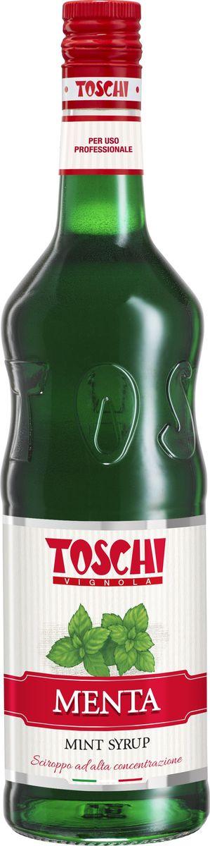 Toschi Мята сироп, 1 лМС-00005619Сироп Мята Toschi отличается ярким вкусом и глубоким ароматом. Великолепен для приготовления коктейлей, молочных шейков, кофе, горячего шоколада, выпечки, десертов и кондитерских изделий. О производителе: Компания Тоски Виньола основана в 1945 году как поставщик продуктов питания. Деятельность компании началась с производства фруктов в ликере, далее ассортимент начал включать сиропы, ликеры, вишни в сиропе Amarena, ингредиенты для мороженого и кондитерских изделий, бальзамический уксус и многое другое.За 70 лет развития компания Тоски Виньола значительно расширила ассортимент выпускаемых продуктов. Благодаря высочайшему качеству и использованию натуральных ингредиентов продукция компании Тоски Виньола известна во всем мире. В 2006 году вся продукция Тоски Виньола получила сертификат IFS (Международный пищевой стандарт). Сегодня Тоски Виньола является семейной компанией, ей управляют Джорджио Монторси и Массимо Тоски, которые бережно хранят секреты семейного производства.