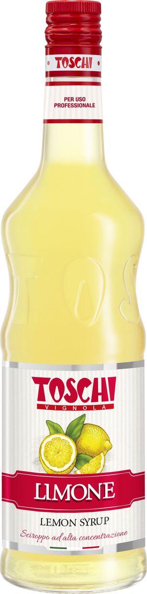 Toschi Лимон сироп, 1 л0120710Сироп Лимон Toschi отличается красивым цветом, пикантным вкусом и ароматом лимонной цедры. Подходит для приготовления лимонадов, чая, кофе, слоистых коктейлей, кондитерских изделий и десертов.О производителе: Компания Тоски Виньола основана в 1945 году как поставщик продуктов питания. Деятельность компании началась с производства фруктов в ликере, далее ассортимент начал включать сиропы, ликеры, вишни в сиропе Amarena, ингредиенты для мороженого и кондитерских изделий, бальзамический уксус и многое другое.За 70 лет развития компания Тоски Виньола значительно расширила ассортимент выпускаемых продуктов. Благодаря высочайшему качеству и использованию натуральных ингредиентов продукция компании Тоски Виньола известна во всем мире. В 2006 году вся продукция Тоски Виньола получила сертификат IFS (Международный пищевой стандарт). Сегодня Тоски Виньола является семейной компанией, ей управляют Джорджио Монторси и Массимо Тоски, которые бережно хранят секреты семейного производства.