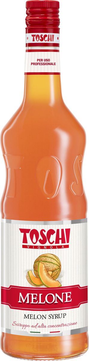 Toschi Дыня сироп, 1 лМС-00005628Сироп Дыня Toschi – тягучий сладкий сироп с изысканным вкусом и ароматом. Идеально подойдет для приготовления коктейлей, лимонада, чая и кофе. Станет великолепным добавлением к мороженому и десертам. О производителе: Компания Тоски Виньола основана в 1945 году как поставщик продуктов питания. Деятельность компании началась с производства фруктов в ликере, далее ассортимент начал включать сиропы, ликеры, вишни в сиропе Amarena, ингредиенты для мороженого и кондитерских изделий, бальзамический уксус и многое другое. За 70 лет развития компания Тоски Виньола значительно расширила ассортимент выпускаемых продуктов. Благодаря высочайшему качеству и использованию натуральных ингредиентов продукция компании Тоски Виньола известна во всем мире. В 2006 году вся продукция Тоски Виньола получила сертификат IFS (Международный пищевой стандарт). Сегодня Тоски Виньола является семейной компанией, ей управляют Джорджио Монторси и Массимо Тоски, которые бережно хранят секреты семейного производства.