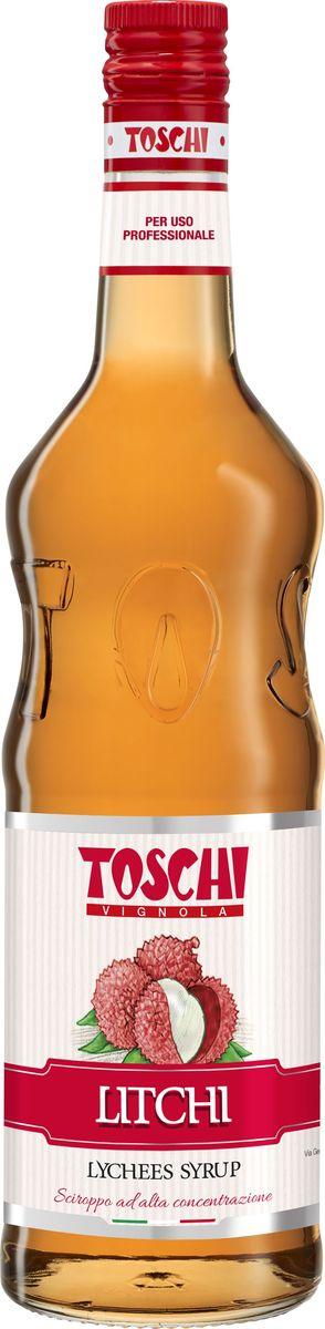 Toschi Личи сироп, 1 лМС-00005630Сироп Личи Toschi отличается деликатным ароматом и изысканным вкусом. Подходит для приготовления освежающих коктейлей, лимонадов, йогуртов и компотов. Станет великолепным дополнением к выпечке и мороженому. О производителе: Компания Тоски Виньола основана в 1945 году как поставщик продуктов питания. Деятельность компании началась с производства фруктов в ликере, далее ассортимент начал включать сиропы, ликеры, вишни в сиропе Amarena, ингредиенты для мороженого и кондитерских изделий, бальзамический уксус и многое другое. За 70 лет развития компания Тоски Виньола значительно расширила ассортимент выпускаемых продуктов. Благодаря высочайшему качеству и использованию натуральных ингредиентов продукция компании Тоски Виньола известна во всем мире. В 2006 году вся продукция Тоски Виньола получила сертификат IFS (Международный пищевой стандарт). Сегодня Тоски Виньола является семейной компанией, ей управляют Джорджио Монторси и Массимо Тоски, которые бережно хранят секреты семейного производства.