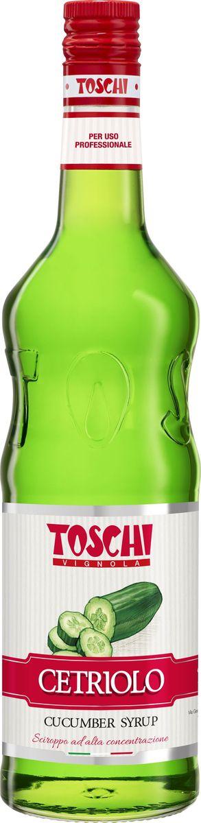 Toschi Огурец сироп, 1 лМС-00005636Сироп Огурец Toschi отличается красивым цветом и ароматом. Подходит для приготовления алкогольных и безалкогольных коктейлей. Придает оригинальный вкус соусам и овощным салатам. О производителе: Компания Тоски Виньола основана в 1945 году как поставщик продуктов питания. Деятельность компании началась с производства фруктов в ликере, далее ассортимент начал включать сиропы, ликеры, вишни в сиропе Amarena, ингредиенты для мороженого и кондитерских изделий, бальзамический уксус и многое другое.За 70 лет развития компания Тоски Виньола значительно расширила ассортимент выпускаемых продуктов. Благодаря высочайшему качеству и использованию натуральных ингредиентов продукция компании Тоски Виньола известна во всем мире. В 2006 году вся продукция Тоски Виньола получила сертификат IFS (Международный пищевой стандарт). Сегодня Тоски Виньола является семейной компанией, ей управляют Джорджио Монторси и Массимо Тоски, которые бережно хранят секреты семейного производства.
