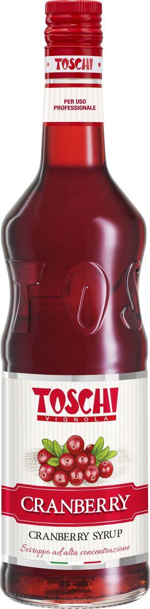 Toschi Клюква сироп, 1 лМС-00005644Сироп Клюква Toschi отличается ярким цветом и терпким вкусом. Подходит для приготовления коктейлей, лимонадов, декорирования десертов и кондитерских изделий.О производителе: Компания Тоски Виньола основана в 1945 году как поставщик продуктов питания. Деятельность компании началась с производства фруктов в ликере, далее ассортимент начал включать сиропы, ликеры, вишни в сиропе Amarena, ингредиенты для мороженого и кондитерских изделий, бальзамический уксус и многое другое.За 70 лет развития компания Тоски Виньола значительно расширила ассортимент выпускаемых продуктов. Благодаря высочайшему качеству и использованию натуральных ингредиентов продукция компании Тоски Виньола известна во всем мире. В 2006 году вся продукция Тоски Виньола получила сертификат IFS (Международный пищевой стандарт). Сегодня Тоски Виньола является семейной компанией, ей управляют Джорджио Монторси и Массимо Тоски, которые бережно хранят секреты семейного производства.