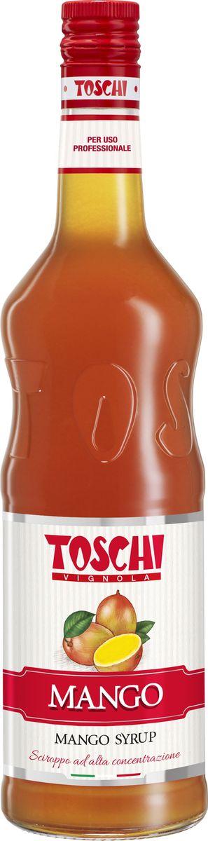 Toschi Манго сироп, 1 лМС-00005646Сироп Манго Toschi отличается ярким вкусом и ароматом. Великолепен для приготовления коктейлей, лимонадов, добавления в чай, кофе, газированную воду. Станет прекрасным дополнением к мороженому, сорбетам и десертам.О производителе: Компания Тоски Виньола основана в 1945 году как поставщик продуктов питания. Деятельность компании началась с производства фруктов в ликере, далее ассортимент начал включать сиропы, ликеры, вишни в сиропе Amarena, ингредиенты для мороженого и кондитерских изделий, бальзамический уксус и многое другое.За 70 лет развития компания Тоски Виньола значительно расширила ассортимент выпускаемых продуктов. Благодаря высочайшему качеству и использованию натуральных ингредиентов продукция компании Тоски Виньола известна во всем мире. В 2006 году вся продукция Тоски Виньола получила сертификат IFS (Международный пищевой стандарт). Сегодня Тоски Виньола является семейной компанией, ей управляют Джорджио Монторси и Массимо Тоски, которые бережно хранят секреты семейного производства.