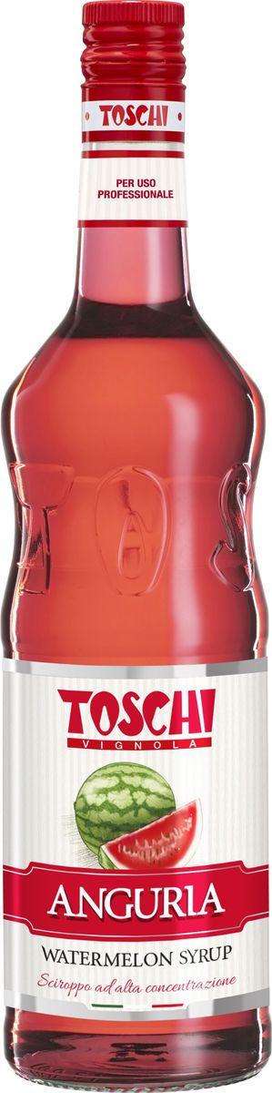 Toschi Арбуз сироп, 1 л0120710Арбуз Toschi отличается ярким цветом и сладким освежающим вкусом. Идеален для приготовления слоистых коктейлей, лимонадов, добавления в чай, кофе, выпечку и десерты. Великолепная основа для алкогольных коктейлей, состоящих из мартини или рома.О производителе: Компания Тоски Виньола основана в 1945 году как поставщик продуктов питания.Деятельность компании началась с производства фруктов в ликере, далее ассортимент начал включать сиропы, ликеры, вишни в сиропе Amarena, ингредиенты для мороженого и кондитерских изделий, бальзамический уксус и многое другое. За 70 лет развития компания Тоски Виньола значительно расширила ассортимент выпускаемых продуктов. Благодаря высочайшему качеству и использованию натуральных ингредиентов продукция компании Тоски Виньола известна во всем мире. В 2006 году вся продукция Тоски Виньола получила сертификат IFS (Международный пищевой стандарт). Сегодня Тоски Виньола является семейной компанией, ей управляют Джорджио Монторси и Массимо Тоски, которые бережно хранят секреты семейного производства.