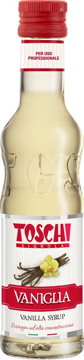 Tosch Ваниль сироп, 0,25 лМС-00005666Сироп Ваниль Toschi отличается деликатным вкусом и ароматом ванили. Гармонично сочетается с кофе, какао, молоком. Великолепен для приготовления коктейлей, кондитерских изделий и выпечки.