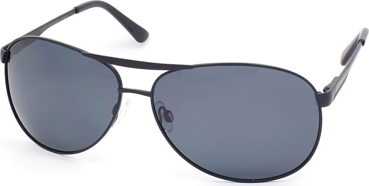 Очки мужские поляризационные Legna, цвет: серый, черный. S4702BBM8434-58AEМужские солнцезащитные поляризационные очки-авиаторы Legna прекрасно подходят для повседневной носки, отдыха и для использования за рулем. Созданные с использованием последних достижений оптических технологий, они защитят ваши глаза от ультрафиолета, повреждений и ярких солнечных бликов. Поляризационные линзы высокого качества задерживают раздражающие блики, что гарантирует полный зрительный комфорт и, как результат, повышенную безопасность во время движения.