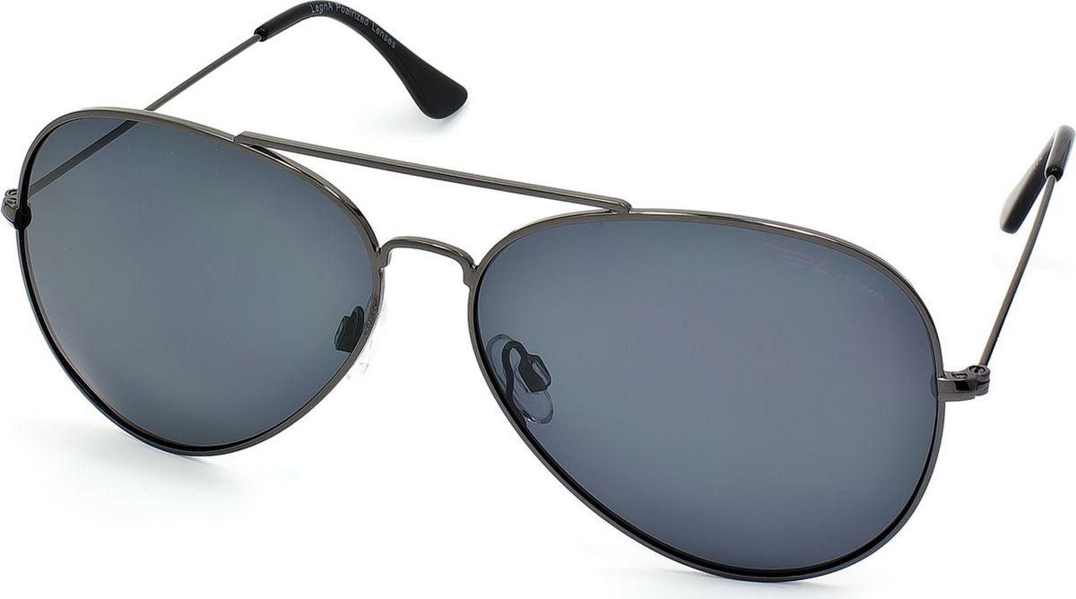 Очки поляризационные Legna, цвет: серый, серый. S4704EBM8434-58AEСтильные солнцезащитные поляризационные очки-авиаторы Legna с зеркальными линзами прекрасно подходят для повседневной носки, отдыха и для использования за рулем. Созданные с использованием последних достижений оптических технологий, они защитят ваши глаза от ультрафиолета, повреждений и ярких солнечных бликов. Поляризационные линзы высокого качества задерживают раздражающие блики, что гарантирует полный зрительный комфорт и, как результат, повышенную безопасность во время движения.