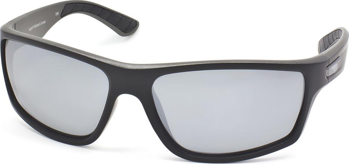 Очки поляризационные Legna, цвет: серый металлик, черный. S7700ABM8434-58AEСтильные солнцезащитные поляризационные очки в спортивном стиле Legna с зеркальными линзами прекрасно подходят для повседневной носки, отдыха и для использования за рулем. Созданные с использованием последних достижений оптических технологий, они защитят ваши глаза от ультрафиолета, повреждений и ярких солнечных бликов. Поляризационные линзы высокого качества задерживают раздражающие блики, что гарантирует полный зрительный комфорт и, как результат, повышенную безопасность во время движения.
